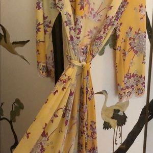 Emilio Pucci 1960s x formfit robe dress